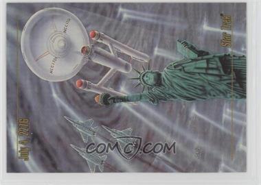 1993 SkyBox Master Series Star Trek - [Base] #28 - July 4, 2276