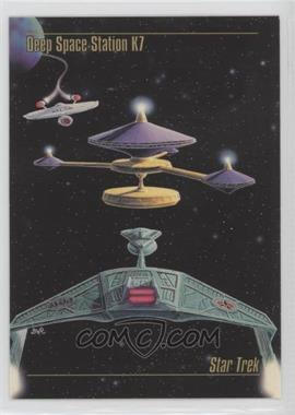 1993 SkyBox Master Series Star Trek - [Base] #29 - Deep Space Station K7