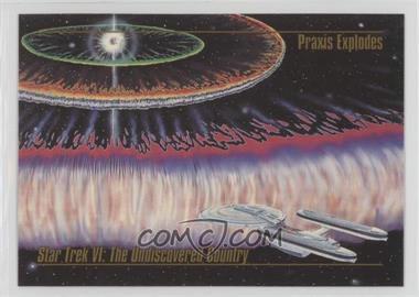 1993 SkyBox Master Series Star Trek - [Base] #41 - Praxis Explodes