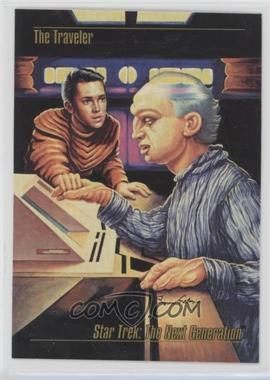 1993 SkyBox Master Series Star Trek - [Base] #45 - The Traveler