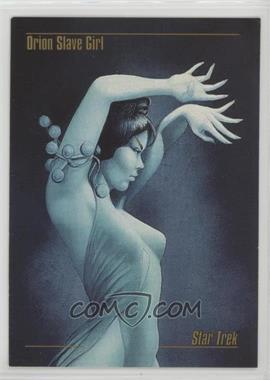 1993 SkyBox Master Series Star Trek - [Base] #70 - Orion Slave Girl [Noted]
