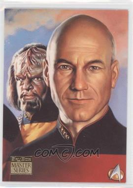 1993 SkyBox Master Series Star Trek - [Base] #F4 - [Missing]