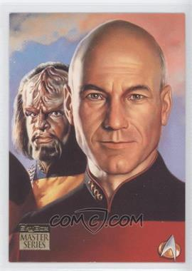 1993 SkyBox Master Series Star Trek - [Base] #F4 - [Missing]