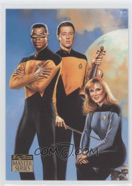 1993 SkyBox Master Series Star Trek - [Base] #F6 - [Missing]