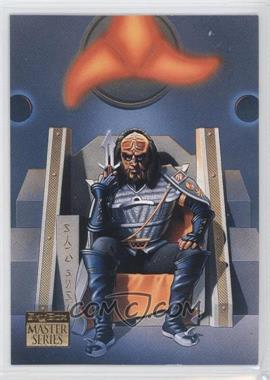 1993 SkyBox Master Series Star Trek - [Base] #S2 - Gowron