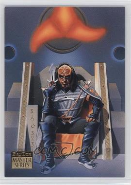 1993 SkyBox Master Series Star Trek - [Base] #S2 - Gowron