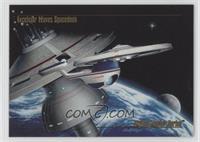 Excelsior Leaves Spacedock