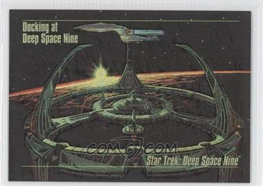 1993 SkyBox Master Series Star Trek - Spectra #S-1 - Docking at Deep Space Nine