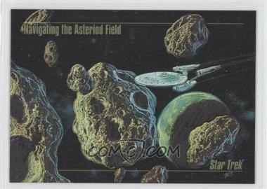 1993 SkyBox Master Series Star Trek - Spectra #S-3 - Navigating the Asteroid Field