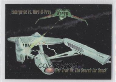 1993 SkyBox Master Series Star Trek - Spectra #S-4 - Enterprise vs. Bird of Prey