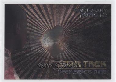 1993 SkyBox Star Trek Deep Space Nine - Spectra #SP2 - Emissary - Parts 1-2