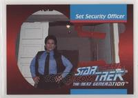 Set Security Officer