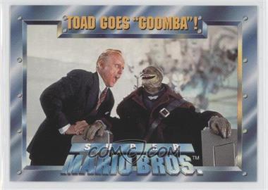 1993 Skybox Super Mario Bros Movie Base 45 Toad Goes Goomba