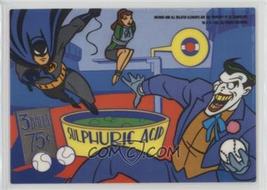 1993 Topps Batman: The Animated Series - Vinyl Mini-Cel #NNO2 - The Joker