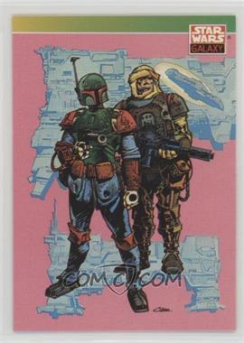 1993 Topps Star Wars Galaxy - [Base] #101 - New Visions - Boba Fett, Dengar