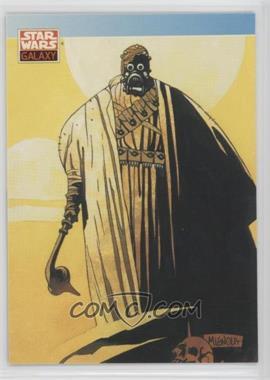 1993 Topps Star Wars Galaxy - [Base] #110 - New Visions - Michael Mignola