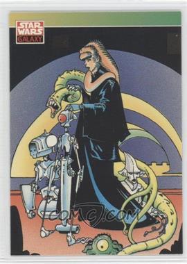 1993 Topps Star Wars Galaxy - [Base] #121 - New Visions - P. Craig Russell