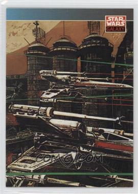 1993 Topps Star Wars Galaxy - [Base] #133 - New Visions - John Van Fleet