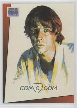1993 Topps Star Wars Galaxy - [Base] #3 - Luke Skywalker