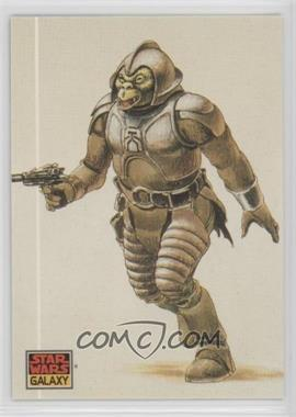 1993 Topps Star Wars Galaxy - [Base] #35 - The Design of Star Wars - Jabba's Menagerie