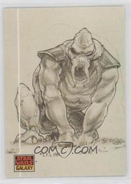 1993 Topps Star Wars Galaxy - [Base] #38 - The Design of Star Wars - Creature Collaboration