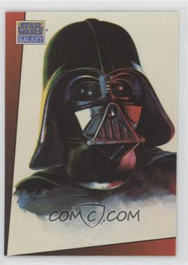 1993 Topps Star Wars Galaxy - [Base] #4 - Darth Vader