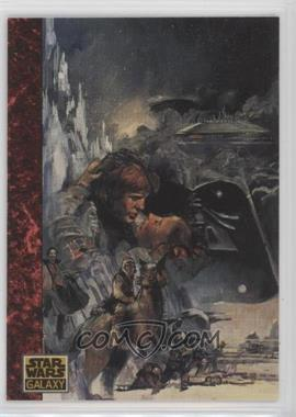 1993 Topps Star Wars Galaxy - [Base] #67 - the Art of Star Wars - The Mountain...