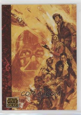 1993 Topps Star Wars Galaxy - [Base] #70 - the Art of Star Wars - The Rebels Transcend