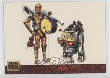 1993 Topps Star Wars Galaxy - [Base] #78 - the Art of Star Wars - Strike Up the Droids