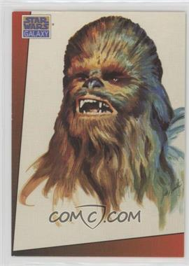 1993 Topps Star Wars Galaxy - [Base] #8 - Chewbacca