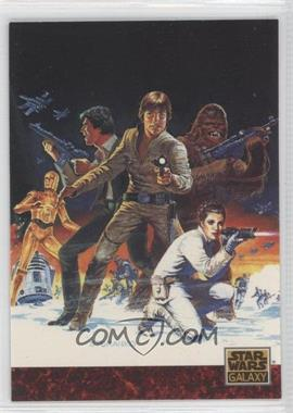 "1993 Topps Star Wars Galaxy - [Base] #81 - the Art of Star Wars - Steranko's ""Empire"""