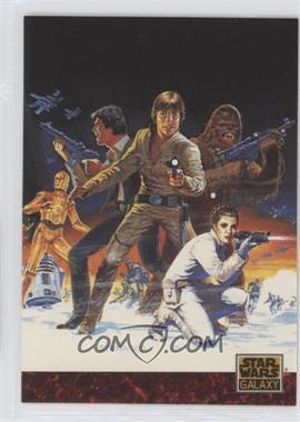 "1993 Topps Star Wars Galaxy - [Base] #81 - the Art of Star Wars - Steranko's ""Empire"""