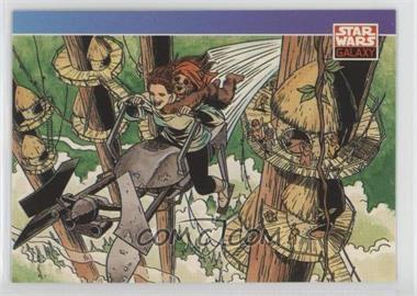 1993 Topps Star Wars Galaxy - [Base] #85 - New Visions - June Brigman
