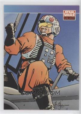 1993 Topps Star Wars Galaxy - [Base] #87 - New Visions - Howard Chaykin