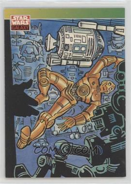 1993 Topps Star Wars Galaxy - [Base] #90 - New Visions - Steve Ditko