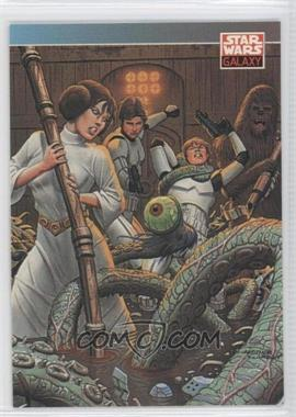 1993 Topps Star Wars Galaxy - [Base] #93 - New Visions - Fastner & Larson