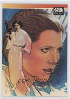 Special Guest Artist Subset Checklist - Leia Organa