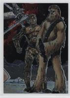 C-3PO, Chewbacca