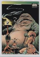 Jabba the Hutt (NSU/Starlog/Wizard Insert)