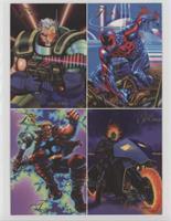 Bone Claws, Phoenix, Maximum Carnage, Body Slide, Spider-Man 2099, Thunderstrik…