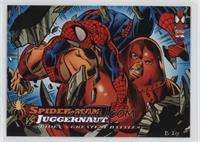 Spider-Man vs Juggernaut