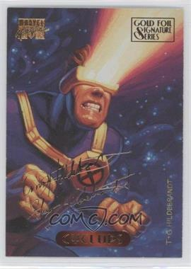1994 Fleer Marvel Masterpieces - [Base] - Gold Foil Signature Series #25 - Cyclops