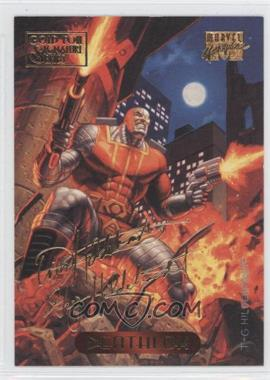 1994 Fleer Marvel Masterpieces - [Base] - Gold Foil Signature Series #29 - Deathlok