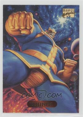 1994 Fleer Marvel Masterpieces - [Base] #122 - Thanos