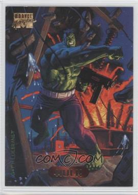 1994 Fleer Marvel Masterpieces - [Base] #50 - Hulk