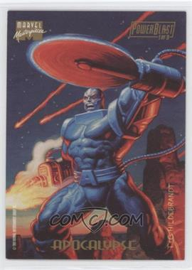 1994 Fleer Marvel Masterpieces - PowerBlast #1 - Apocalypse