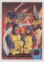 The Wedding of Cyclops and Jean Grey - Part One