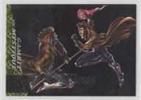 Gambit vs. Mystique