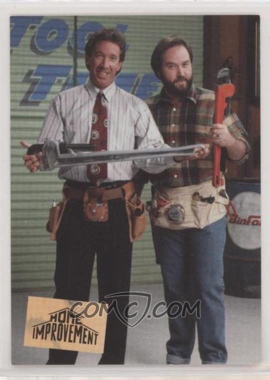 1994 Skybox Home Improvement Promo S1 Tim Allen As Tim Taylor Al Borland