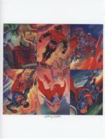 Lex Luthor II, Cyborg, Steel, Superman, Supergirl, Superboy